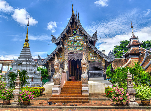 泰国清迈、曼谷、芭堤雅7天星享